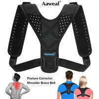 Adjustable Posture Corrector Support Back Shoulder Belt Strap Brace Unisex