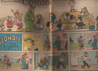 Sunday Comics February 4 1973 Rochester Democrat & Chronicle Blondie Peanuts