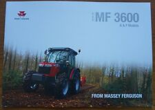 MASSEY FERGUSON MF 3600 A & F Models Brochure