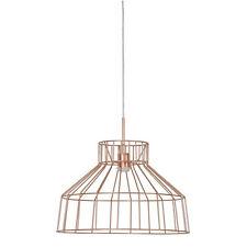 Lumière Plafond Pendant lampe câble en cuivre cadre cage style petit