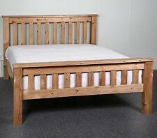 6ft Super King Solid Wood Bed Frame HIDDEN FITTINGS Chunky Style HF