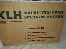 KLH Dolby Pro Logic Speaker System Model #2410