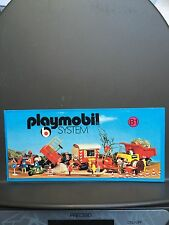 Rare CATALOGUE CATALOG KATALOG PLAYMOBIL System 1977 B1 Leaflet Klicky