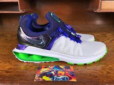 Nike Shox Gravity Womens Running Shoes White/Violet/Green AQ8554 105 NEW Sz 8