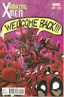 Amazing X-Men   #1   Deadpool Moore Variant E Cover  HIGH GRADE NM (D805)