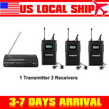 USA! Takstar WPM-200 Stereo Monitor System 1 Transmitter+3 Receivers 780-789Mhz