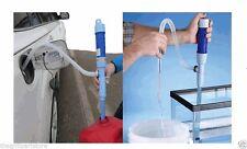 Battery Operated Blue Liquid Siphon Pump for Kerosene, Gas, Water, Diesel New