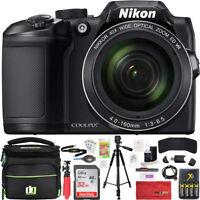 Nikon COOLPIX B500 40x Optical Zoom Digital Camera w/ Built-in Wi-Fi 32GB Bundle