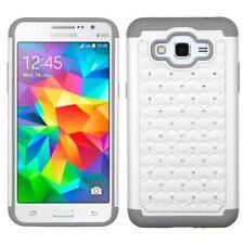 Étuis, housses et coques gris Samsung Galaxy Grand Prime pour téléphone mobile et assistant personnel (PDA)