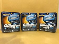 Gillette Fusion5 PROSHIELD CHILL Refill 12 Cartridges*Original Package* #010TR