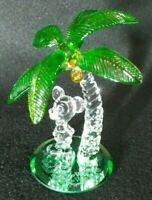 Disney World Mickey Palm Tree Figurine by Arribas Brothers Vintage Rare