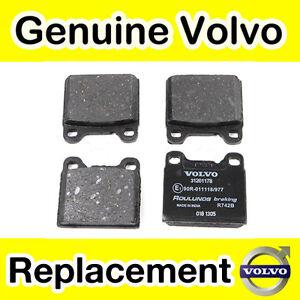 Fits Volvo 240 P245 2.0 Genuine OE Quality Apec Front Brake Pad Fitting Kit