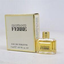 FERRE by Gianfranco Ferre 5 ml/ 0.17 oz Eau de Toilette Splash Mini NIB