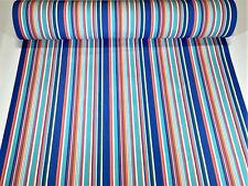 Sunbrella Closeout Multi Color Stripe Outdoor Awning UV Canvas Fabric 46