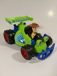 Toy Story 3 Woody and RC Shake 'n Go 2009 Mattel Sounds Motion Tested Works