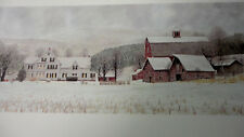 """ Peace in the Valley "" by Jon Crane signed mini Print - Farm"