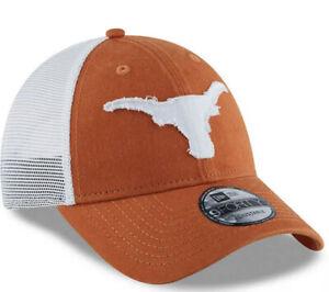 Texas Longhorns Hat New Era 9Forty Snapback Mesh Football Cap Sz. OSFM NEW TEXAS