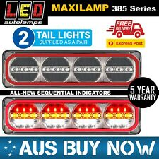 2 X MAXILAMP 385 Series Stop Tail Sequential Indicator Reverse Combination Lamp