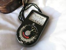 Weston lightmeter. Weston Master Exposímetro Universal.