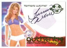 "TAMARA WITMER ""AUTOGRAPH CARD"" BENCHWARMER WORLD CUP SOCCER 2006"