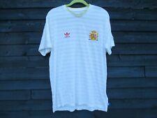 Original Adidas FIFA 2010 World Cup-Blanco España Camiseta De Fútbol Jersey-XL
