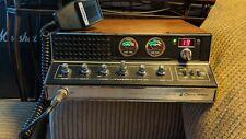 Vintage Cobra 142 Gtl Ssb/Am Cb Radio Base Station 40 Channel w/ Microphone