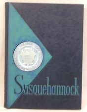 Vintage 1973 HS Yearbook Susquehannock Columbia Borough High School