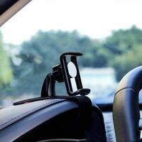 Clip On Car HUD GPS Dashboard Mount Cell Mobile Phone Holder Non-slip Stand