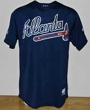 6ac19d74f 2008 Blaine Boyer Game Worn Atlanta Braves ALT Jersey  56 - Majestic Size 50