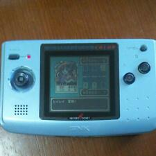 NGP Neo Geo Pocket Color Platinum Blue Console Game set F/S SNK DHL Tracking