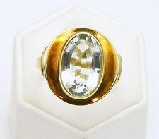 Ringe mit Edelsteinen im Solitär Stil aus Gelbgold für Geburtstage