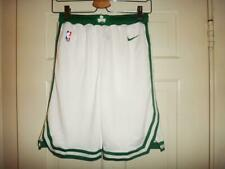 Youth Nike Boston Celtics NBA White Association Swingman Shorts L (14/16)