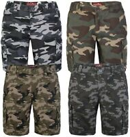 westAce Mens Army Cargo Combat Shorts Casual Work Cotton Flat Front Half Pant