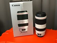 Canon EF 100-400mm f/4.5-5.6L IS II USM Telephoto Lens - White