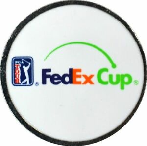 FED EX CUP - TWO SIDED - Logo GOLF BALL MARKER