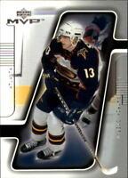 2001-02 Upper Deck MVP Hockey Card Pick