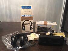 VINTAGE PIONEER Sew-5 Wireless Headphones & TM-5 Radio Transmitter
