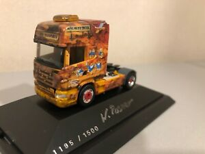 Herpa 277037 Monument 1 Scania R TL Solozugmaschine W. Rosner