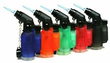 45 Degree Angle Eagle Jet Flame Butane Torch Lighter Refillable Windproof 5 Pack