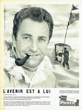 Publicité Advertising  108  1960   Pento  hair cream cheveux  base Charcot