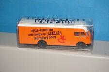 RF40 ] BREKINA Promocional Modelo MB LP 312 Pullman Maleta Modelo de Exposición