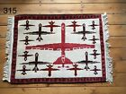 •315• Beautifully Handmade  Genuine Afghan War Rug, 80x58 cm