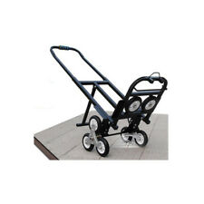TECHTONGDA Carbon Steel Climbing Stairs Truck Black Foldable Convenient