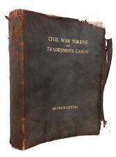 Hettrich & Guttag - Civil War Tokens & Tradesman's...Cards - SIGNED LTD 1 of 15