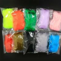 11 Colors Egg Yarn Fibers Trouts Fly Fishing FliesTying Material