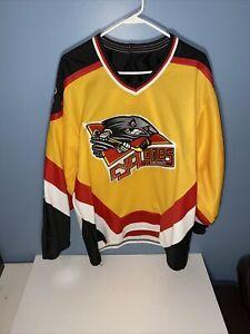 Vintage Mens Cincinnati Cyclones Bauer PRO Hockey Jersey SZ M Rare
