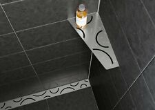 Schluter Shelf for Bathrooms, Wetrooms, Showers Kitchens etc.. 40 to choose from