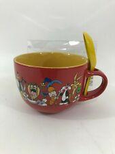 Marvel Comics Ceramic Cereal Bowl Mug and Spoon Set 24 oz