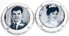 Capsule de Champagne : New !!! MILAN Jean , 50 ans de mariage !!!