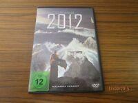 """DVD """" 2012 """"  Deutsch/Englisch/Türkisch  - ein Roland Emmerich Film   /S18"""